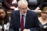 Corbyn rompe las conversaciones con el Gobierno sobre el «brexit»