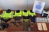 Desarticulado un grupo criminal cuyos miembros simulaban ser guardias civiles para atracar a narcos y empresarios