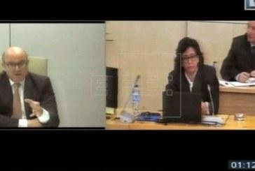 Guindos: Las cuentas de 2011 de Bankia sin auditar fueron un «hecho inaudito»