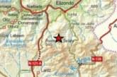 Registrado un terremoto de 3,7 de magnitud en Bertizarana