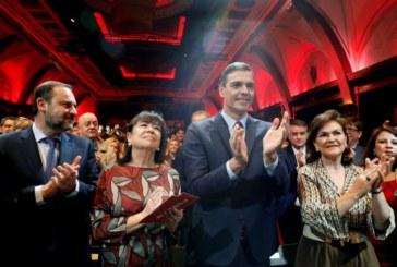 Sánchez dice que el PSOE es el partido de la concordia en su 140 aniversario