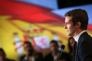 Casado (PP):»Vamos a dar la vuelta a las encuestas y vamos a gobernar España»