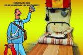 """La Ciudadela de Jaca expone """"La Bandera del Soldado, el pañuelo mochilero y cubrepercha"""""""