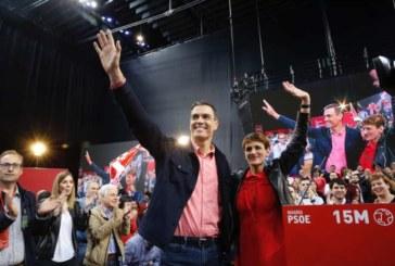"""Sánchez dice que el PSOE es """"el único"""" que reconoce diversidad y foralidad"""