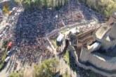 Inédito vídeo de la II Javierada 2019 desde el Dron de la Guardia Civila de Navarra