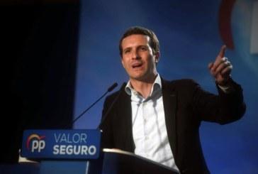 Casado: Sánchez no da la cara porque tiene que dar indultos por escaños