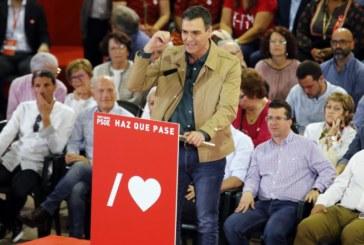 28-A: Sánchez pide el voto a los indecisos porque el «bloque de la involución» no duda
