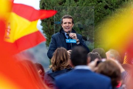 """28-A: Casado ve al PP en """"remontada"""" pese a las encuestas y pide un """"empujón final"""""""
