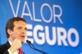 28-A: Casado garantiza que activará de inmediato el 155 en Cataluña si gobierna
