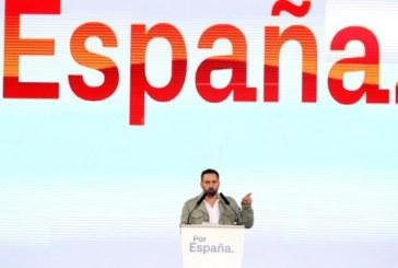 28-A: Abascal apela a los socialistas defraudados con el PSOE a sumarse a Vox
