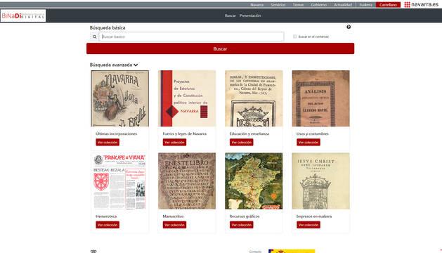 La Biblioteca Navarra Digital (BiNaDi) estrena una herramienta de gestión mejorada