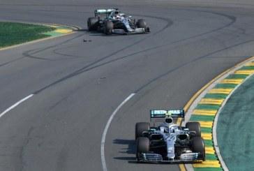 La pugna entre Bottas y Hamilton marca, en China, la carrera 1.000 en F1