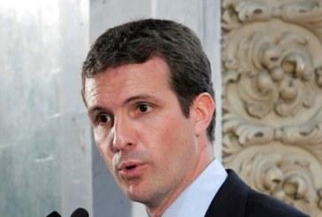 Casado, «preocupado» por la propuesta de que Iceta sea presidente del Senado