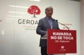 """Geroa Bai dice que """"Sánchez pasa por Navarra y pasa de Navarra"""""""