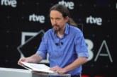 """Iglesias pide regular los debates, """"más importantes que la propaganda"""""""
