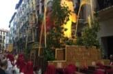 La Procesión del Santo Entierro y el retorno de La Dolorosa reúne a miles de personas en Pamplona