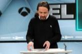 Debate Atresmedia 28A.- Iglesias: Lo primero será acordar un programa antes de hablar de ministerios