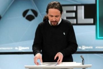 28-A: Iglesias replica a Sánchez que frenar a Vox no es solo «votar en negativo»