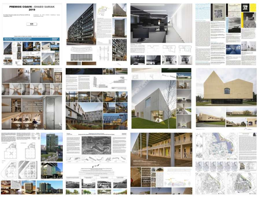 Los arquitectos navarros, premiados en 7 de 8 modalidades de galardones COAVN