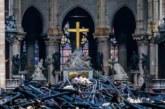 Rescatados los grandes cuadros de Notre Dame, que será cubierta por una lona
