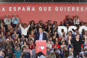 28-A. Sánchez arranca la campaña apelando a indecisos y abstencionistas