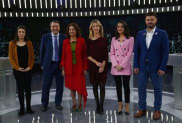 28-A: PP y Cs cercan al PSOE en el debate a seis