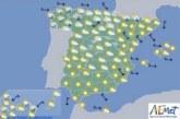 Hoy en España predominio tiempo estable sin precipitaciones en buena parte del país