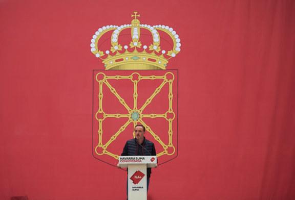 Esparza: Navarra Suma es el voto que más duele al nacionalismo y al independentismo