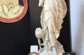 La Policía Nacional recupera 3 piezas artístico-históricas sustraídas en parques públicos y privados de Roma