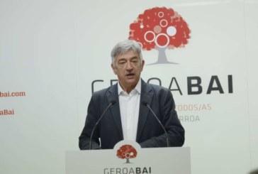Geroa Bai propone a Martínez como Senador Autonómico ante la división del pentapartito