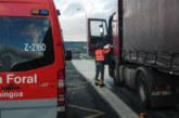 Navarra restringe el tráfico pesado sentido Francia desde la noche del viernes