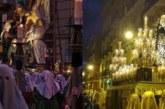 La Hermandad de la Pasión celebra Viernes Santo y el retorno de la Dolorosa en Pamplona