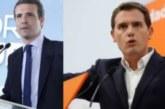 Casado y Rivera irán al debate comprometido con Atresmedia el día 23, Iglesias pide que RTVE rectifique
