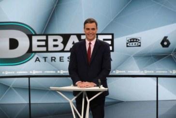 Debate Atresmedia: Sánchez dice que no está en sus planes pactar con Ciudadanos tras el 28A