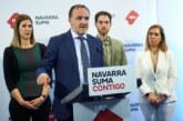 """28-A.-Esparza: """"Navarra Suma es la opción de todos los que no quieren a los nacionalistas ni en los gobiernos de España, ni de Navarra"""""""