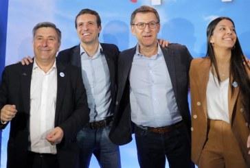 Casado asegura que el PSOE no engaña a nadie y ya pactó con Podemos y ERC