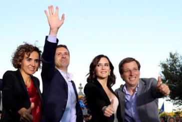 Casado pide a los votantes que no hagan pagar al nuevo PP por la corrupción pasada