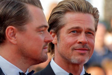 Leonardo DiCaprio y Brad Pitt, duelo de guapos en la alfombra roja de Cannes