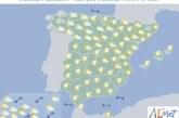 Hoy en España, aumento de nubosidad con alguna lluvia en el norte