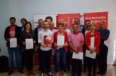 26M: Los candidatos de PSN firman un manifiesto de compromiso con Tierra Estella