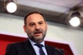 Ábalos: La opción es «gobierno o bloqueo» y pide que no se pongan «trabas»
