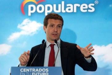 Casado afea a Sánchez sus «bandazos» en la crisis del Open Arms