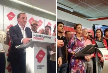 26M: El más votado, NA+ con 19 escaños y PSN con 11 pasan de largo la mayoría absoluta en Navarra