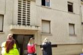 Dos rescatados en Obanos de una casa en la que se ha declarado un incendio