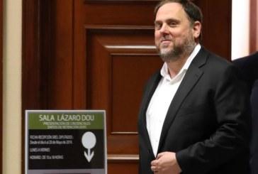 El TS rechaza dar permiso a Junqueras para acceder al acta de eurodiputado