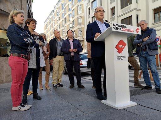 Navarra Suma roza la mayoría absoluta con 13 concejales en Pamplona