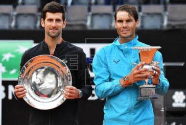 Nadal se impone a Djokovic y conquista Roma por novena vez