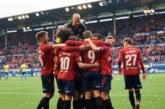 2-0. Osasuna regala un nuevo triunfo al Sadar para celebrar ascenso a Primera