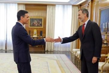 El rey cierra con Sánchez los contactos para decidir si propone su investidura