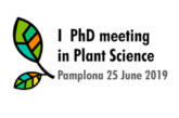 AGENDA: 25 de junio, en Baluarte, 1st PhD Meeting in Plant Science